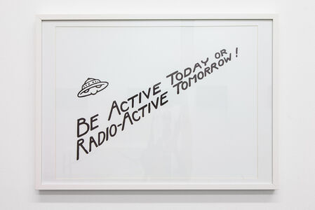 Be Active Today or Radio-Active Tomorrow!