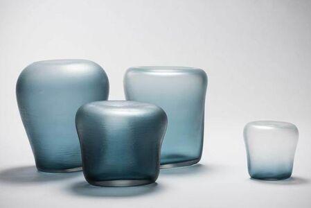 Canneto Laguna - Oceano glass vases