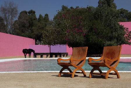 Pair of Chairs from Cuadra San Cristobal Estate
