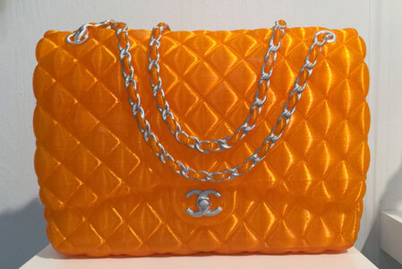 Chanel Bag Sculpture