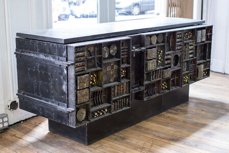 Sculpted Front Cabinet