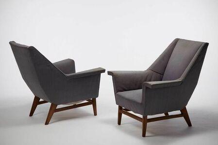 Armchairs - pair