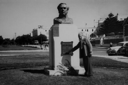 """From the series  """"Photographs 1930 - 1943"""", Monument to Jose de Urquiza"""