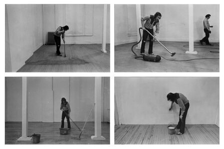 Four Activities: Sweeping, Vacuuming, Mopping, Washing, 20 March 1971
