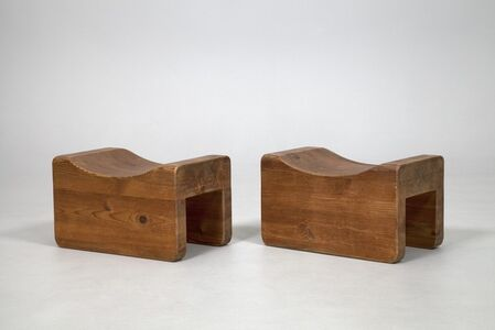 Pair of  'Utö' Stools