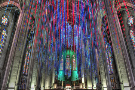 Installation at Grace Cathedral, San Francisco, CA