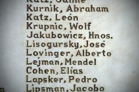 Names of Beth Shalom congregants