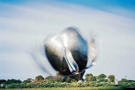 Tulip Sculpture, 15 minutes exposure, Buenos Aires, Argentina