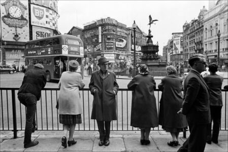 Piccadilly Circus Roundabout, London