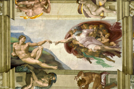 Creation of Adam, Sistine Chapel ceiling