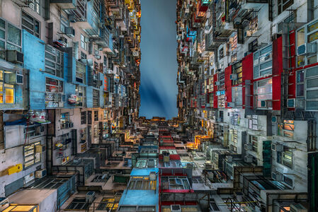 The Grid III - Stacked Hong Kong