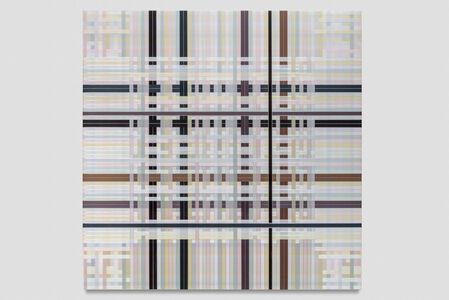Untitled (Pastel Interwoven, 8640 Strands)
