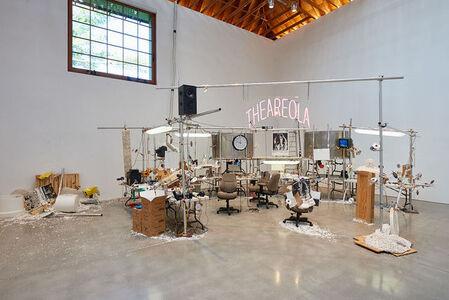 Installation view, The Grand Machine/THEAREOLA