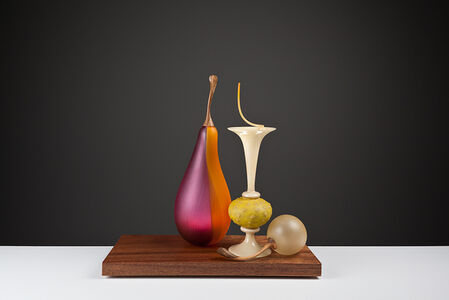 Still Life with Bosc and Nut