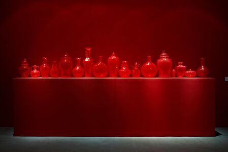 Installation view of Ghost series - Red