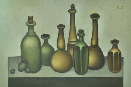 Still Life With Seven Jars