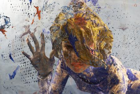 Falling Blue 03