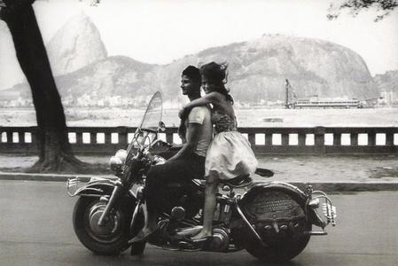 Rio De Janeiro Couple on a Harley Davidson Bike