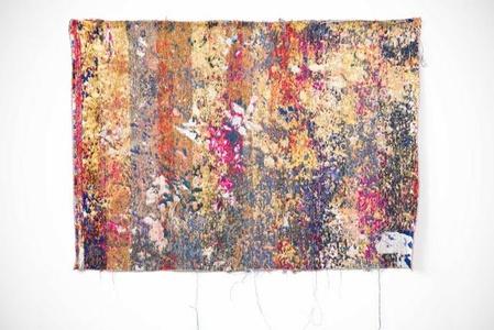 """postnatureflowermarket(trainingUnslktaid)"" - wall tapestry"