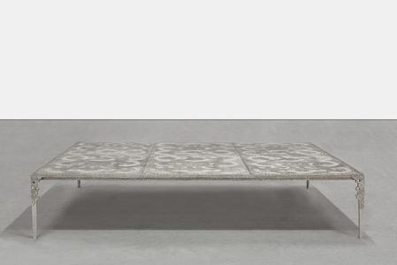 Table Basse Anneaux (6 Plaques)