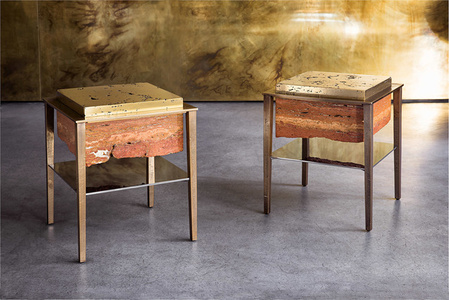 Cremino side tables