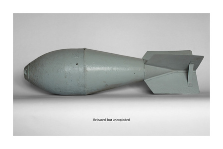 Fired but unexploded VI.