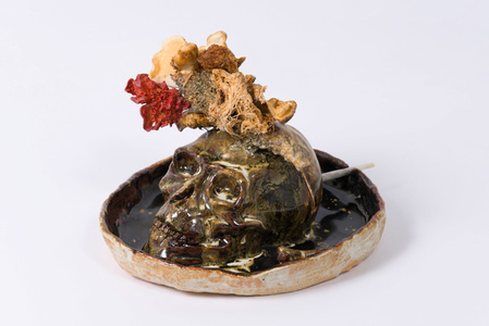 Untitled (Head with Mushrooms)
