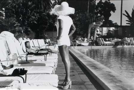Woman by the Pool - Beverly Hills Hotel, California