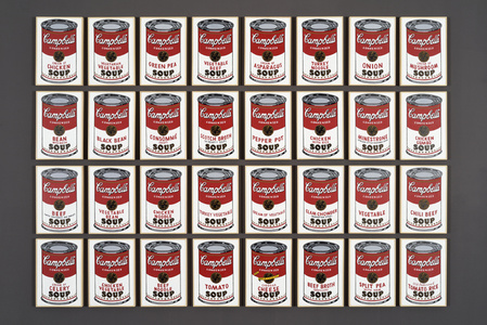 Andy Warhol '32 Large Campbell's Soup Cans, 1964
