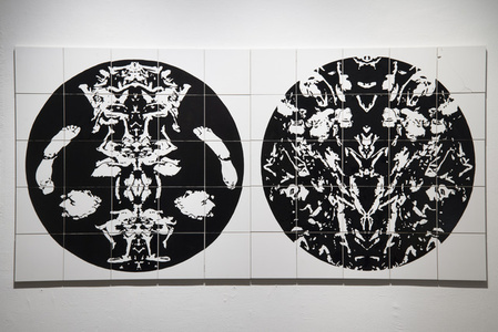 Decomposition No. 1 and 2 (diptych)