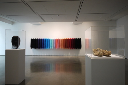 """Installation view of Wan Lee solo exhibition, """"Silence in between"""" (2015)"""