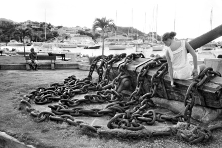 Woman on Chains