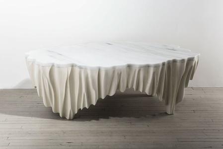 Markus Haase, Ash and Marble Aeolian Table, USA, 2016