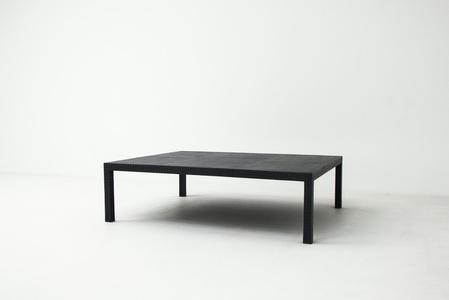 Table basse aux Carreaux Alu