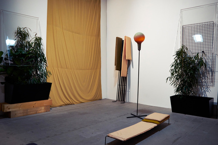 that is the last item on this list: a glass of anger (Installation view)
