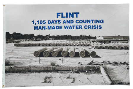 FLINT, 1,105 days and counting man-made water crisis, 2017