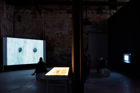 Excavation of the image - imprint, shadow, spectre, thought (Installation view)