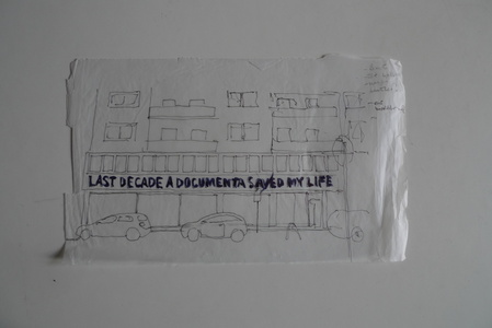 Sketch for Time Chart for the Documenta Worker