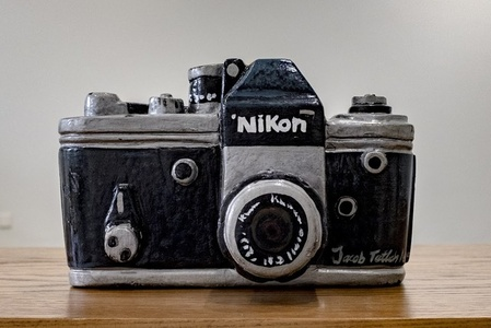 Coffin- Nikon Camera