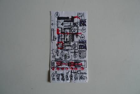 Sketch for Room of Rhythms layout