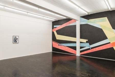 Ausstellungsansicht 'displaced', Galerie Rupert Pfab