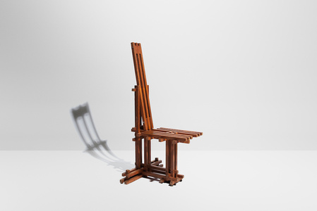 "Chair for the collection ""mobil architecture"""