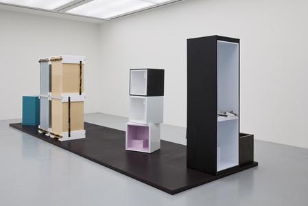 (3 part fridge) (x-small fridges stacked)