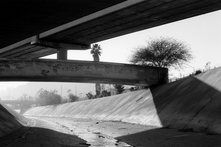 Los Angeles River, 101 & 110 Intersection