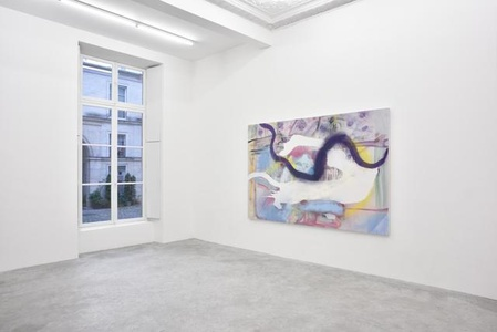 Julian Schnabel 'Jack Climbed Up The Beanstalk To The Sky Of Illimitableness Where Everything Went Backwards'