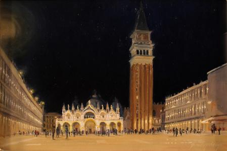 Nocturne, Piazza San Marco, Venice