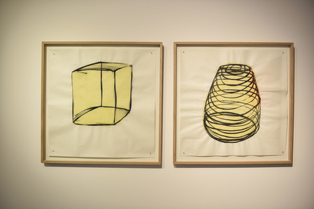 Untitled (pair of drawings)