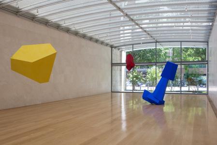 Installation view, Joel Shapiro, Nasher Sculpture Center