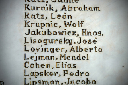 Names of Beth Shalom congregants