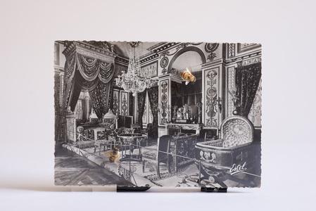 The Bee Queen, Postcard, Clock Mechanism